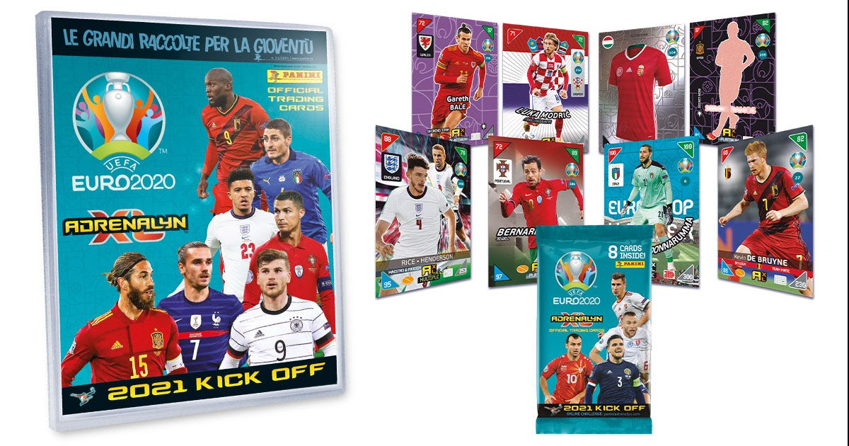 UEFA EURO 2020™ Adrenalyn XL™ 2021 Kick Off official trading cards collection - Panini