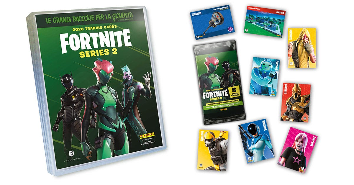 FORTNITE SERIES 2 trading card collection