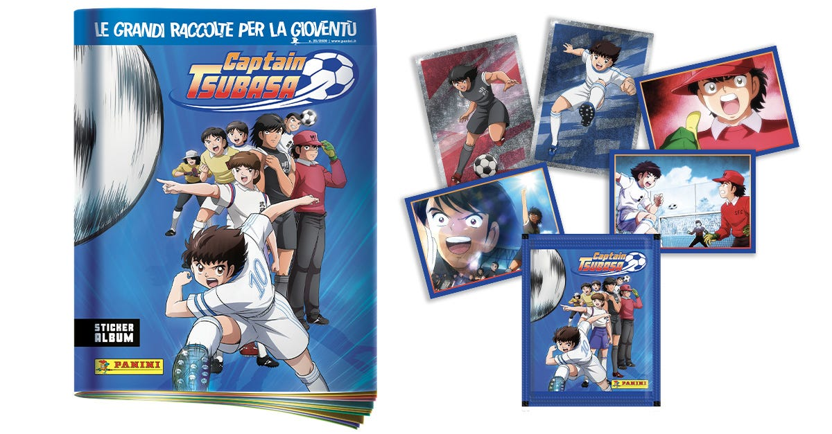CAPTAIN TSUBASA Sticker Collection