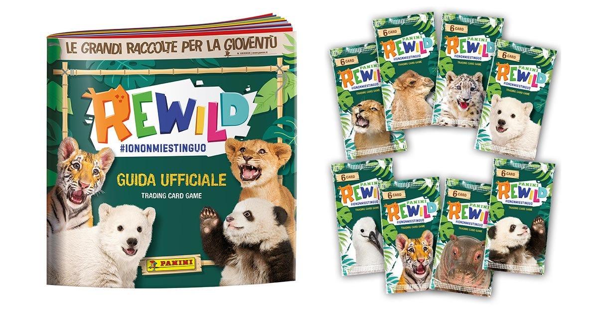 PANINI REWILD #IONONMIESTINGUO trading card collection - Panini