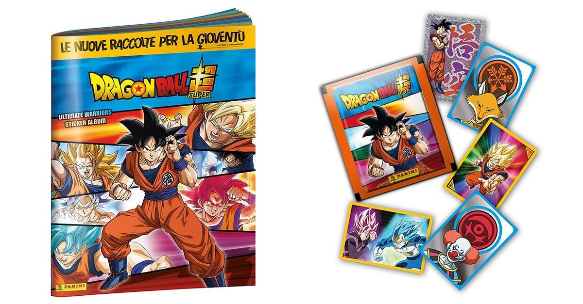 DRAGON BALL SUPER 3 Sticker Collection - Panini