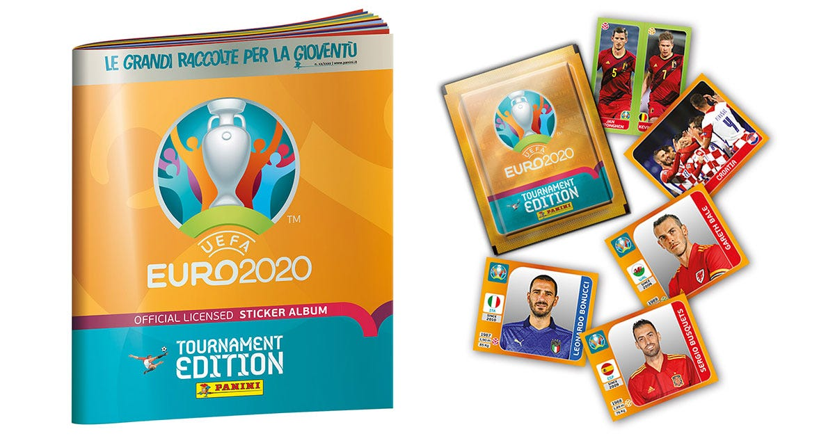 UEFA EURO 2020™ Tournament Edition Official Sticker Collection - Panini