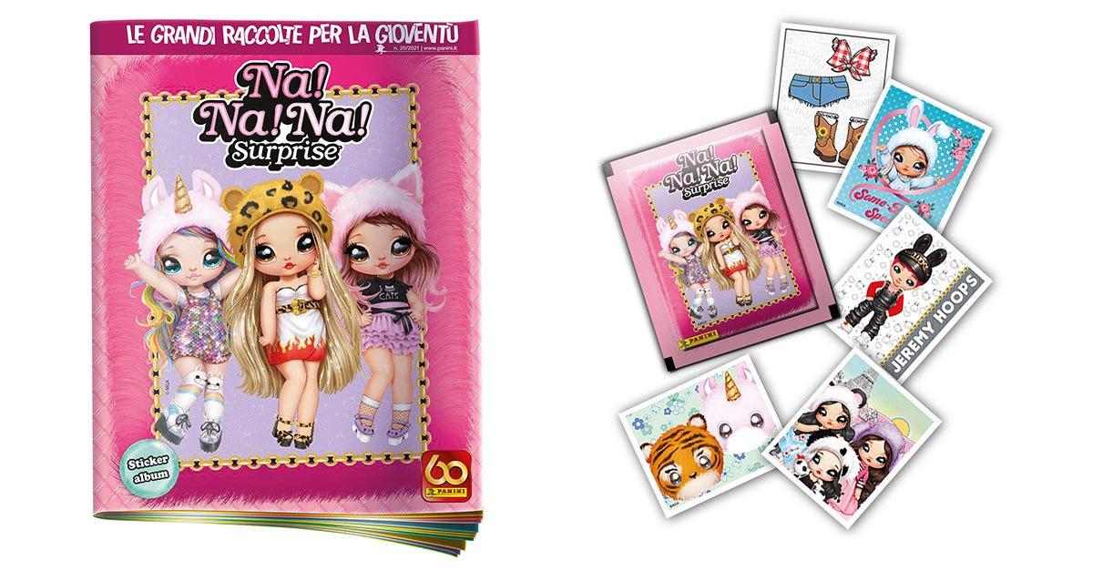 NANANA SURPRISE sticker collection - Panini