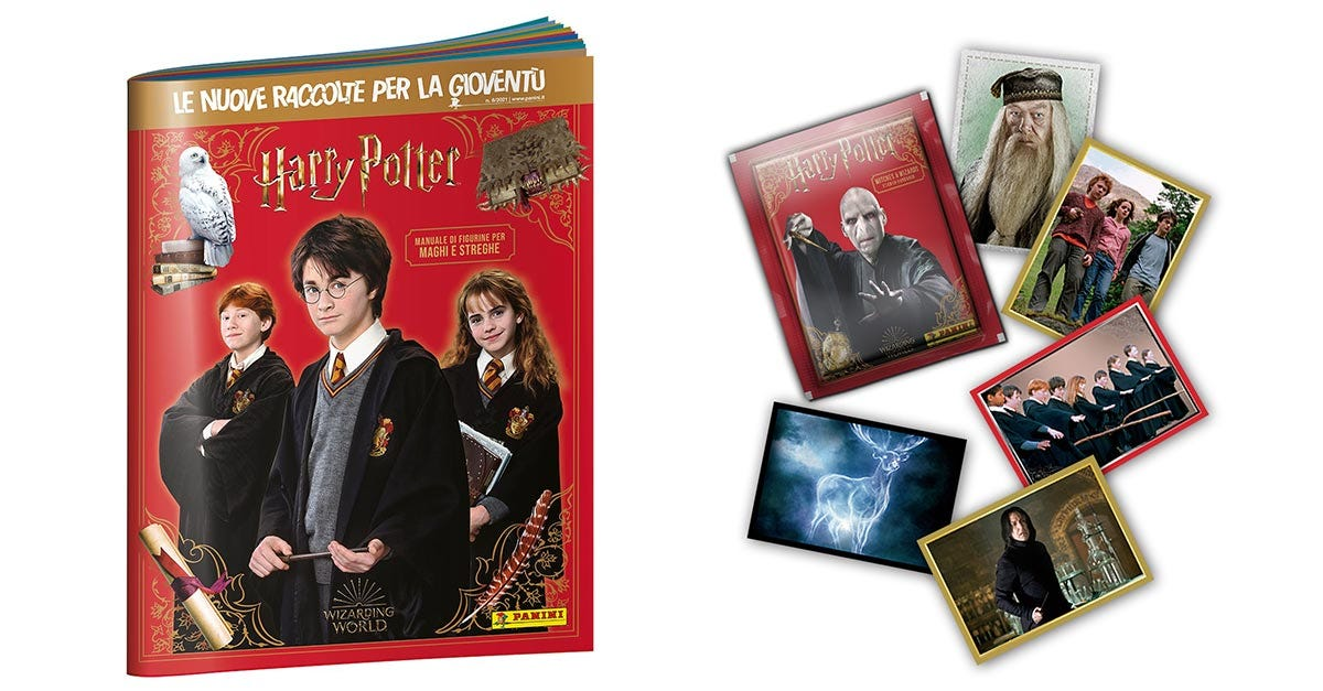 Harry Potter Anthology Sticker collection - Panini