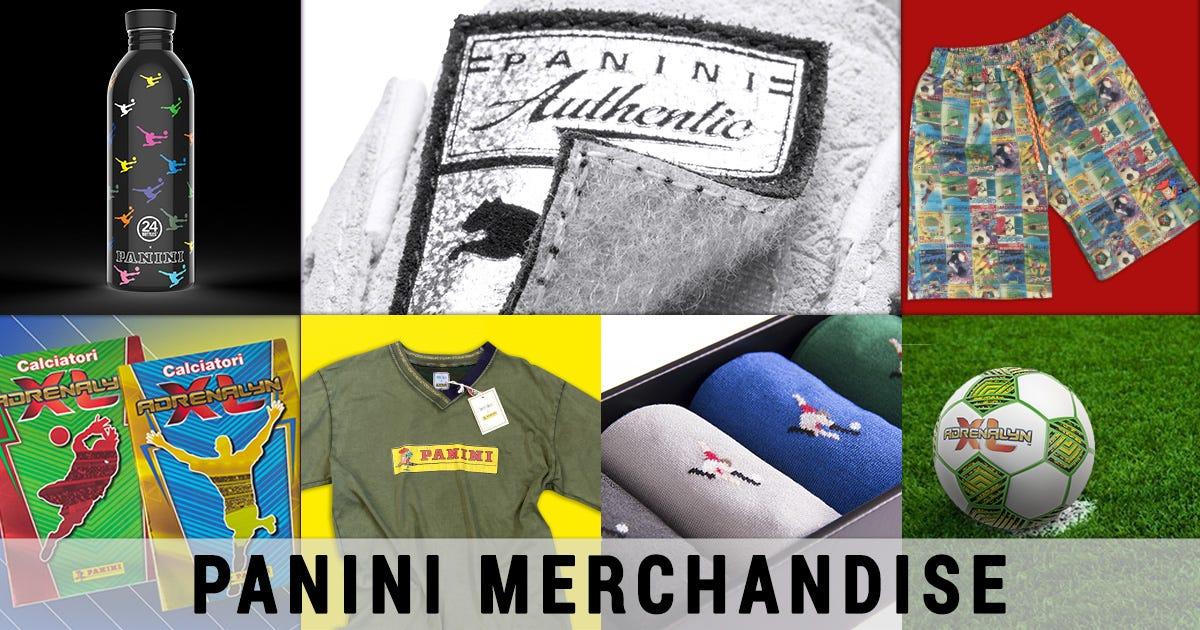 Panini Merchandise: abbigliamento, gift, prodotti per la scuola e tanto altro