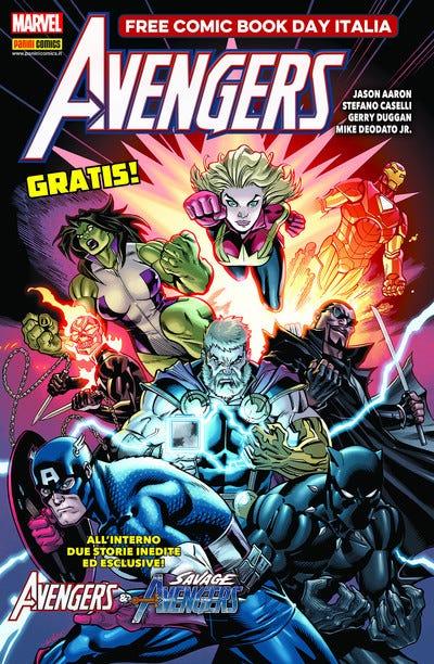 Savage Avengers – Panini Free Comic Book Day 2019