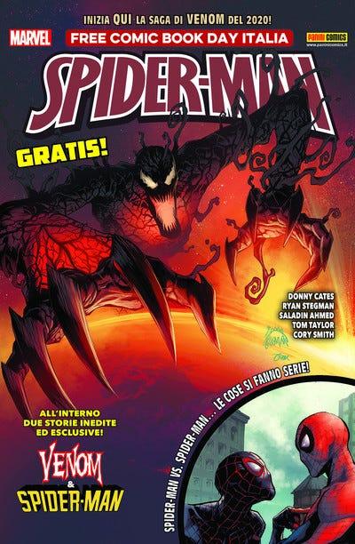 Venom & Spiderman - Panini Free Comic Book Day 2019