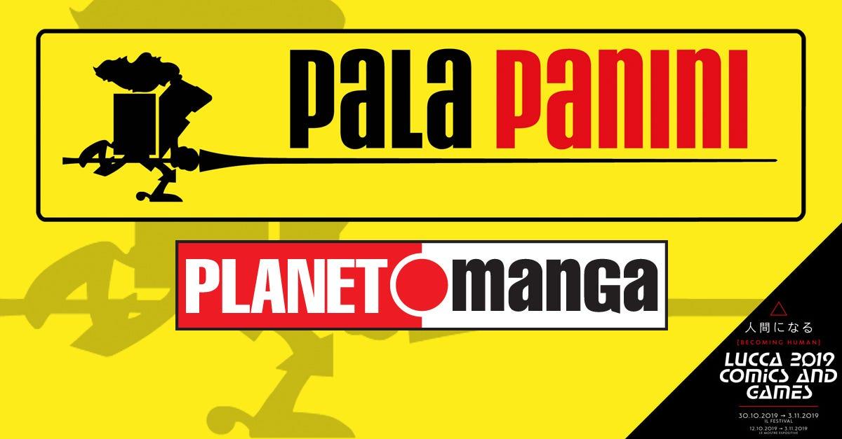 Programma Panini Comics al Lucca Comics & Games 2019 - PalaPanini