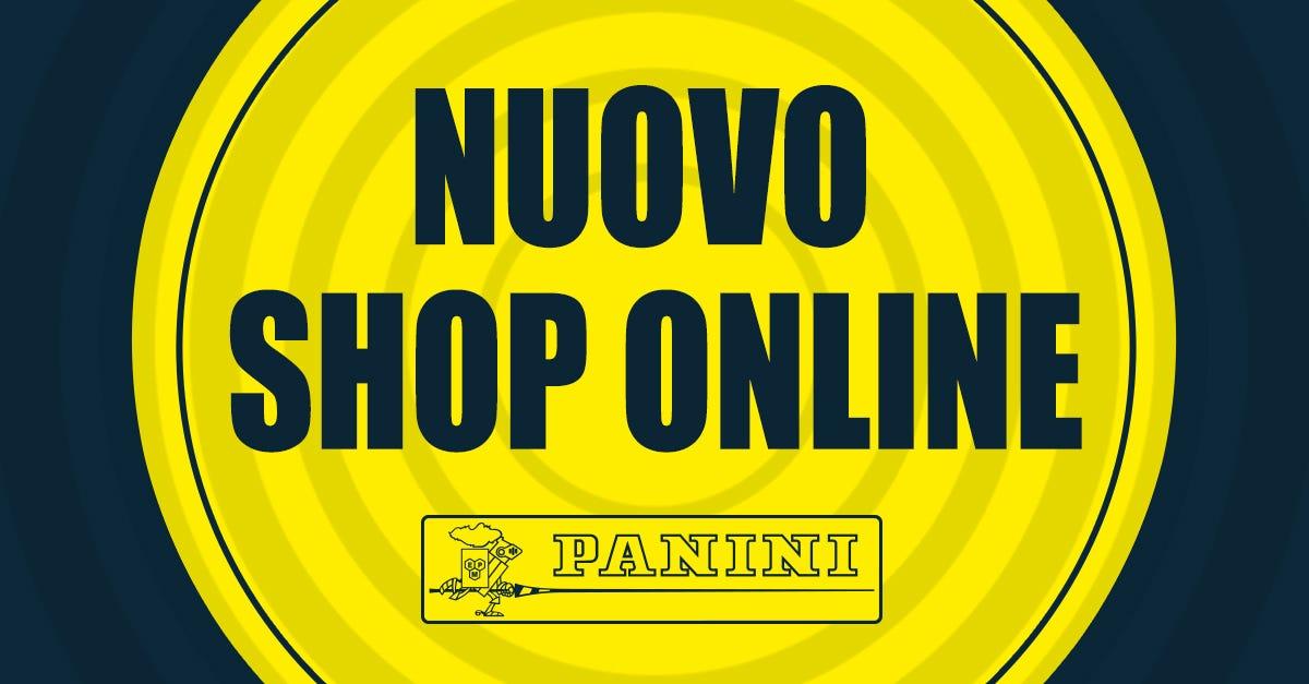 Nuovo sito Panini è online