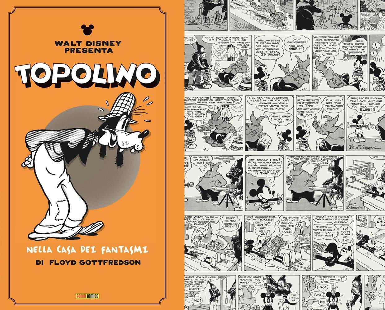 Topolino - Le Strisce di Gottfredson 1936/1938 Autori magazines