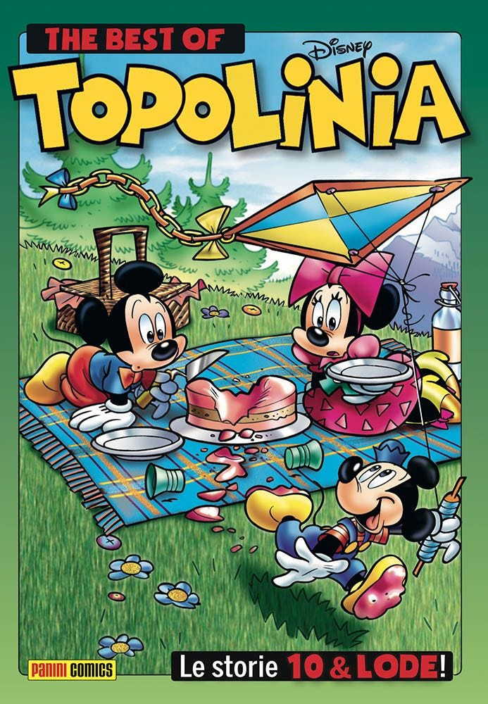 The Best Of Topolinia  magazines