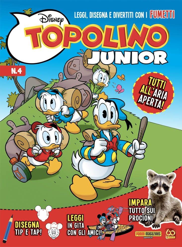 Topolino Junior 4 Umoristico magazines