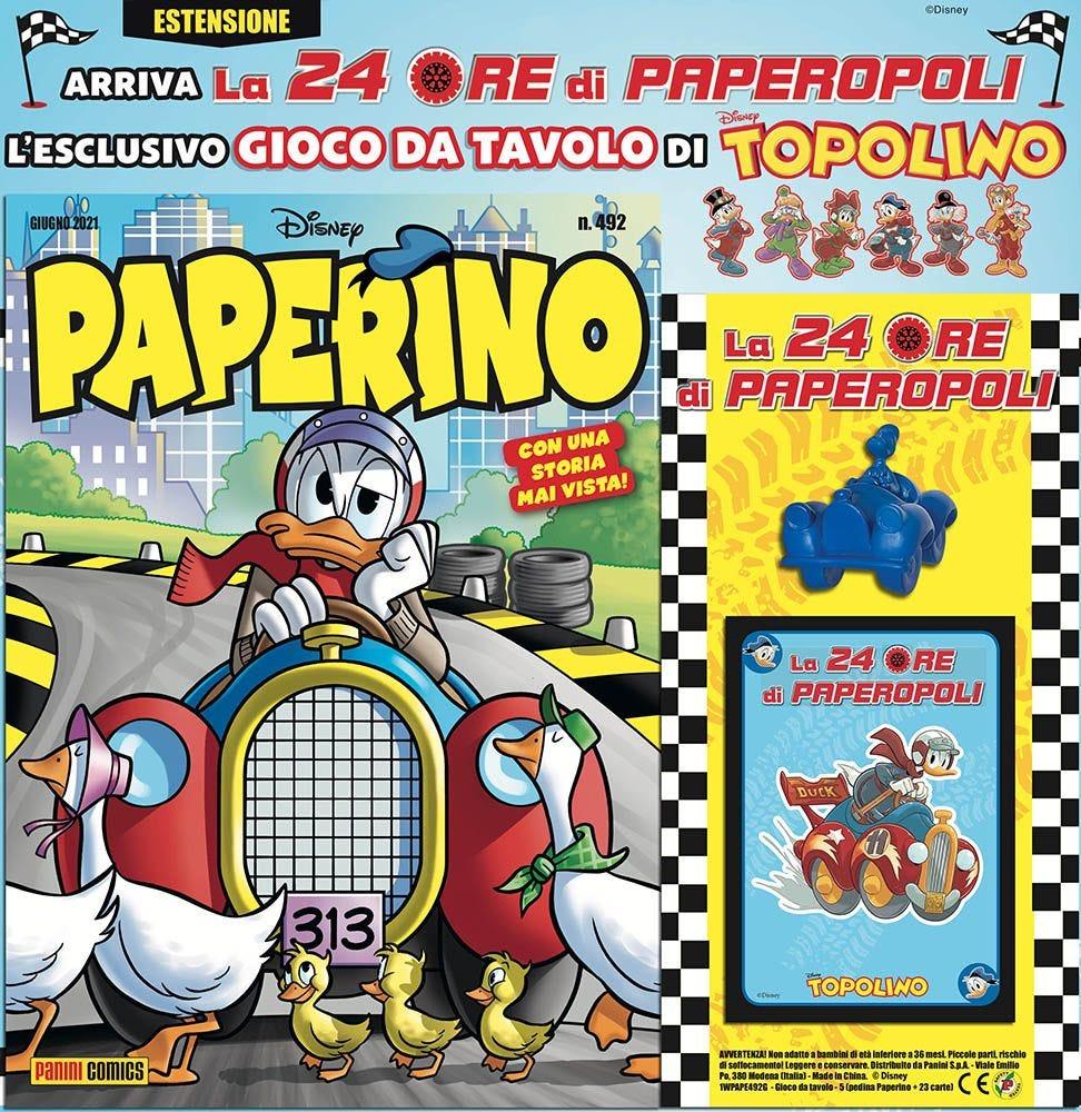 Paperino 492 con gadget Paperino magazines