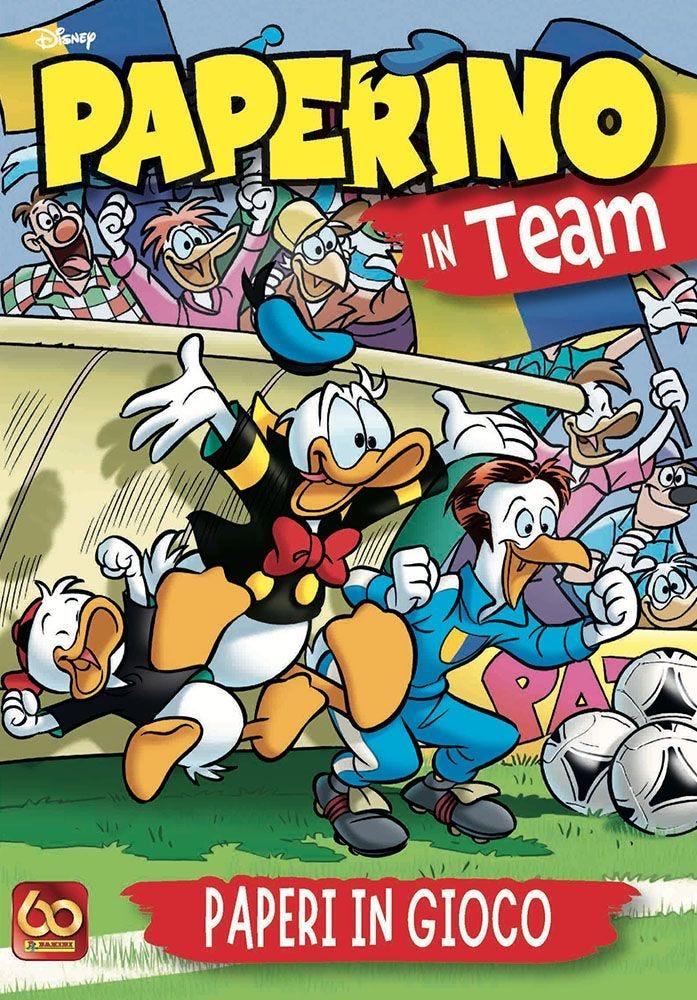 Paperino in Team - Paperi nello Sport Paperopoli magazines