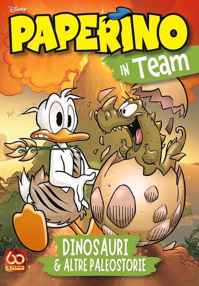 Paperino in Team – Dinosauri Paperopoli magazines