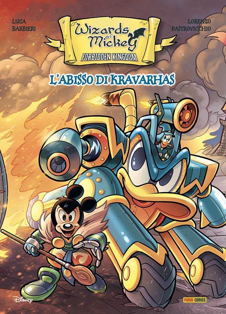 Wizard of Mickey - L'abisso di Kravarhas Fantasy magazines