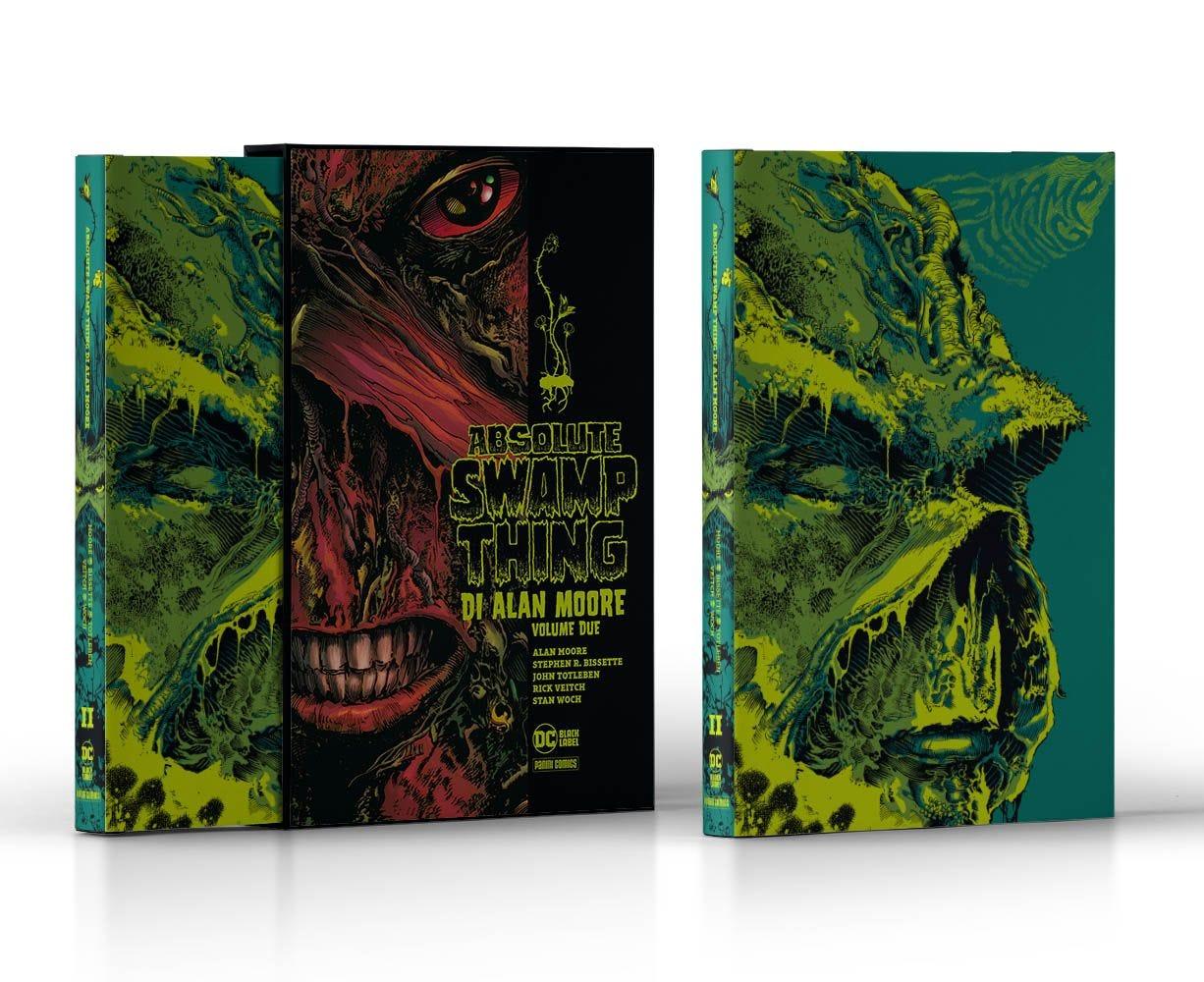 Swamp Thing di Alan Moore 2 Cinema, Videogiochi e Serie TV magazines