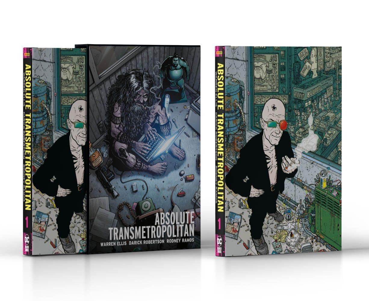 Transmetropolitan 1 Edizioni da Collezione e Cofanetti magazines