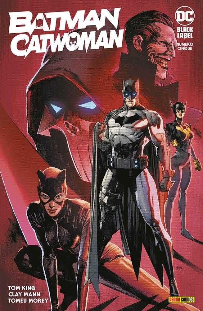 Batman/Catwoman 5 Batman magazines