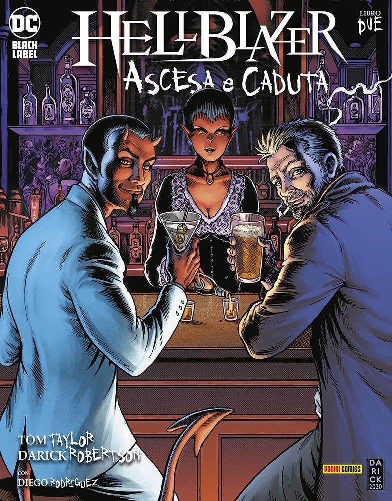 Hellblazer: Ascesa e Caduta 2 DC Black Label magazines