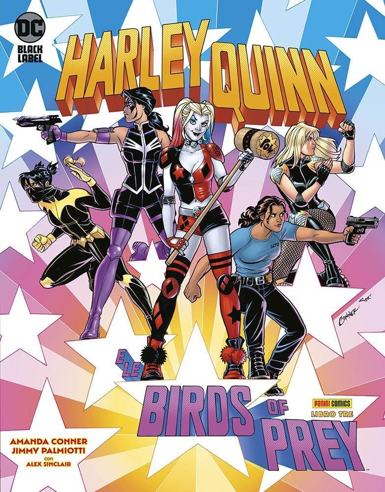 Harley Quinn e le Birds of Prey 3 Harley Quinn books