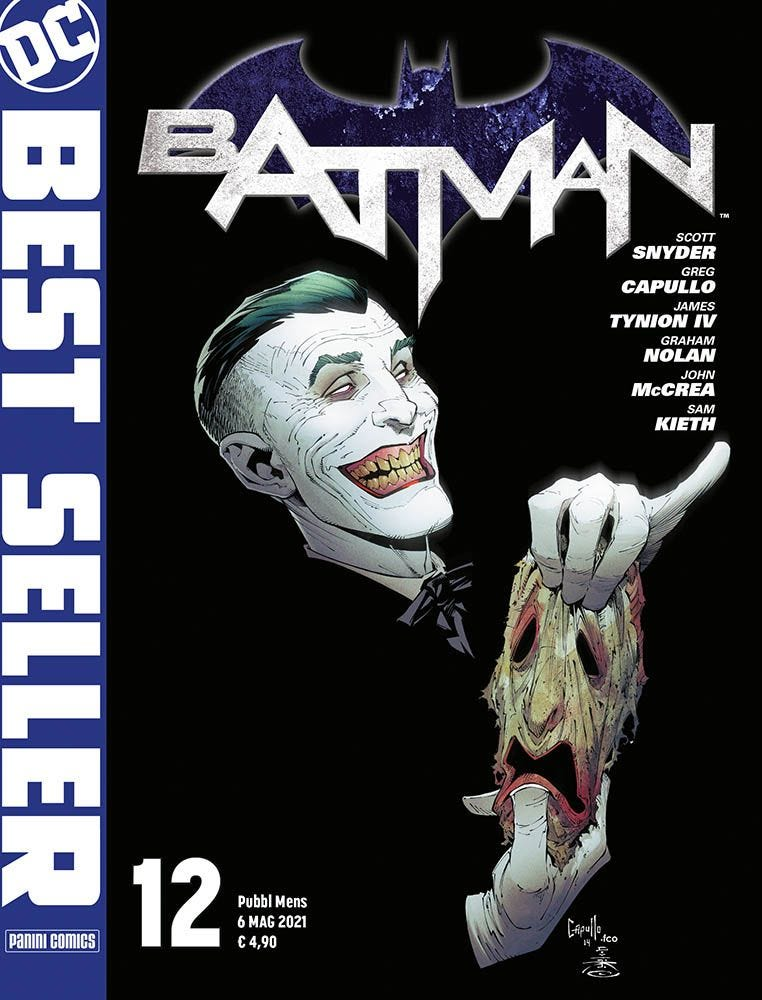 Batman Di Scott Snyder E Greg Capullo 12 Batman magazines