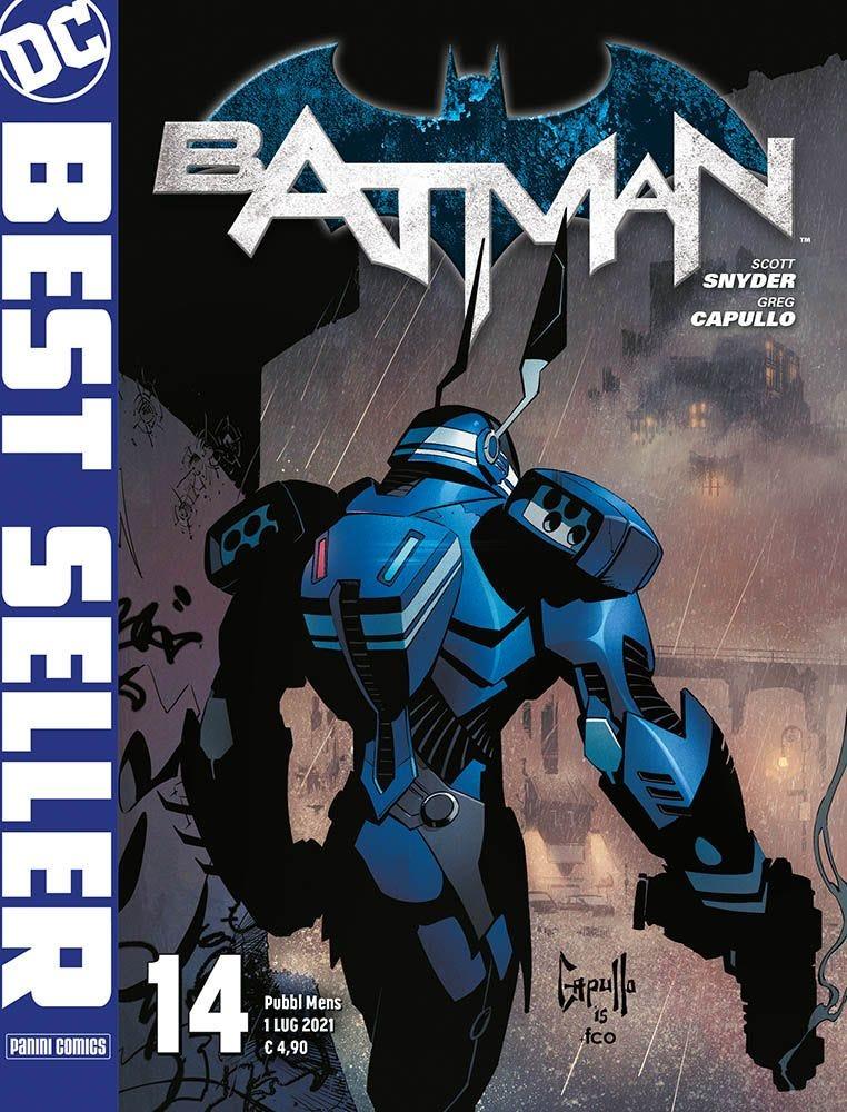 Batman di Scott Snyder e Greg Capullo 14 Batman magazines