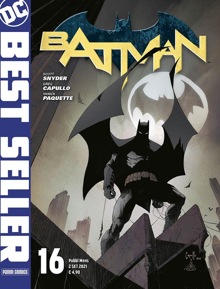 Batman di Scott Snyder e Greg Capullo 16 Batman magazines