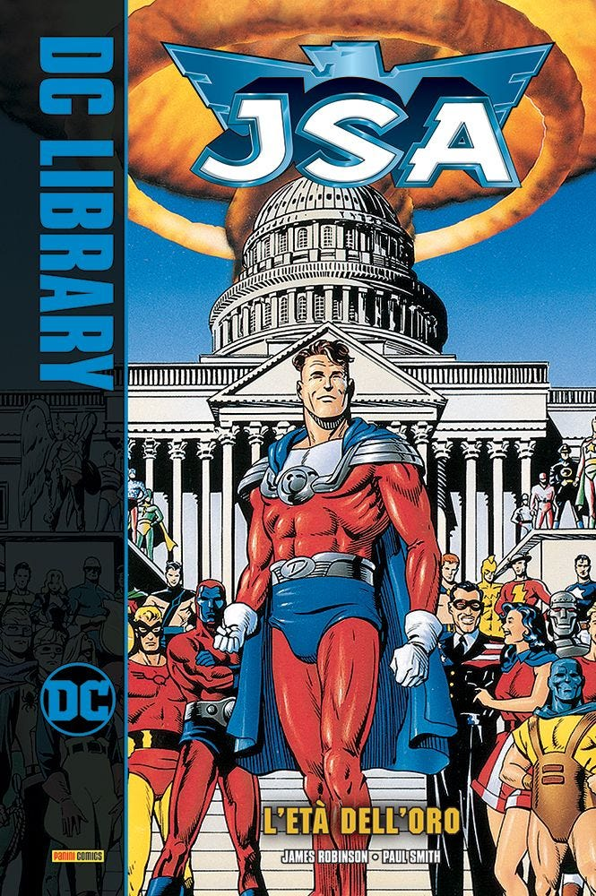 JSA: L'Età dell'Oro Justice League magazines