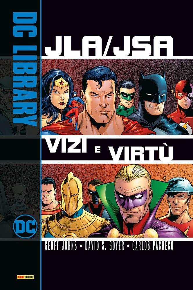 JLA/JSA: Vizi e Virtù Justice League books