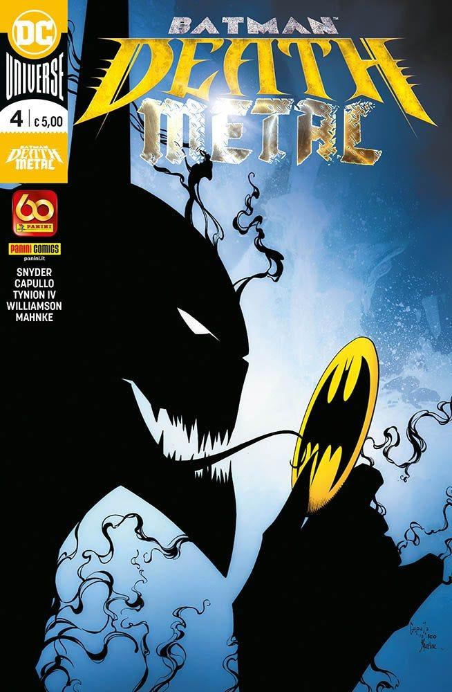 Batman: Death Metal 4 4 Crossover magazines