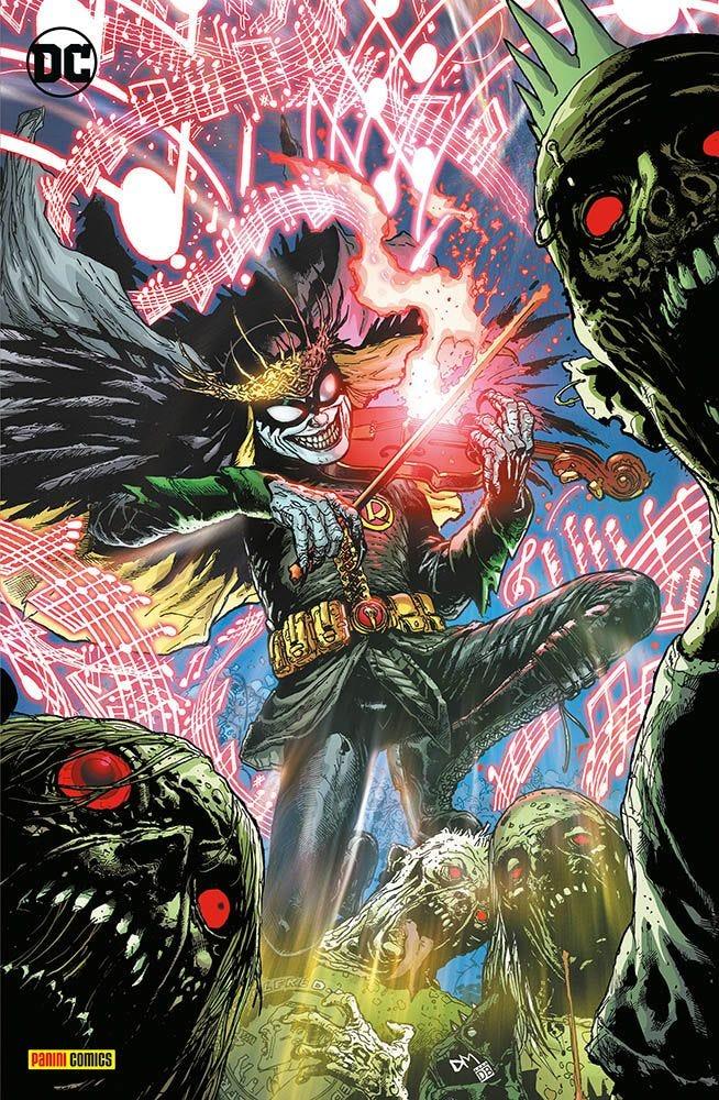 Batman: Death Metal 6 Crossover magazines