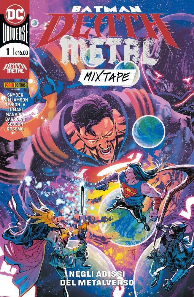 Batman: Death Metal Mixtape 1 Batman magazines
