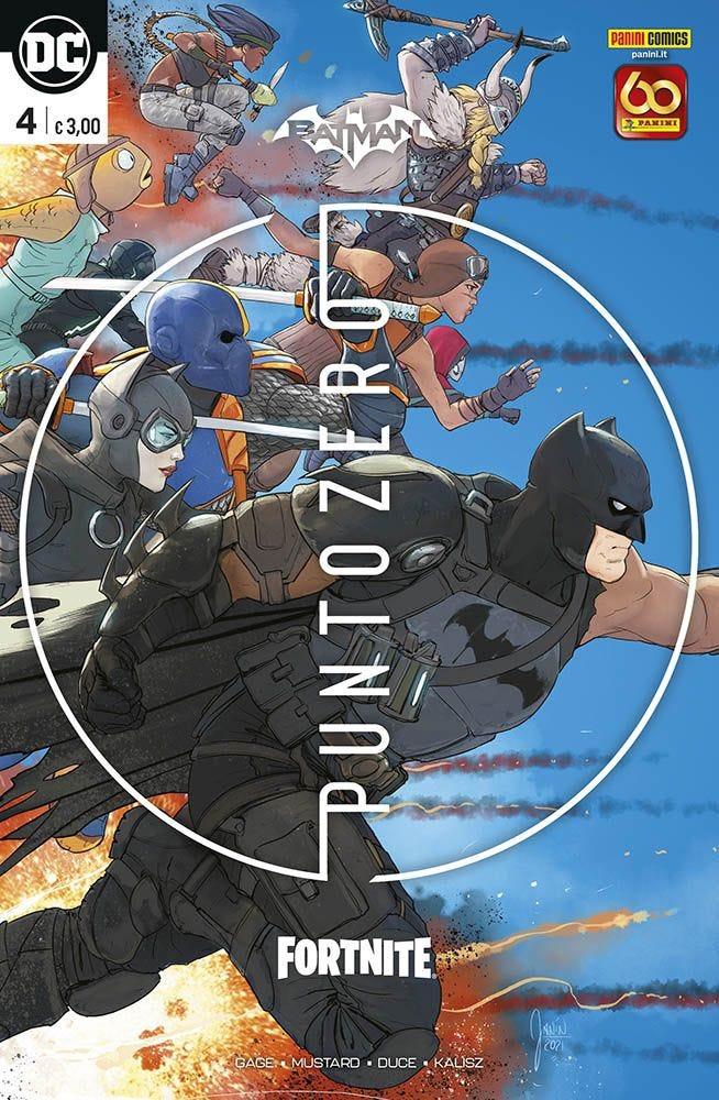 Batman/Fortnite 4 Prevendita magazines
