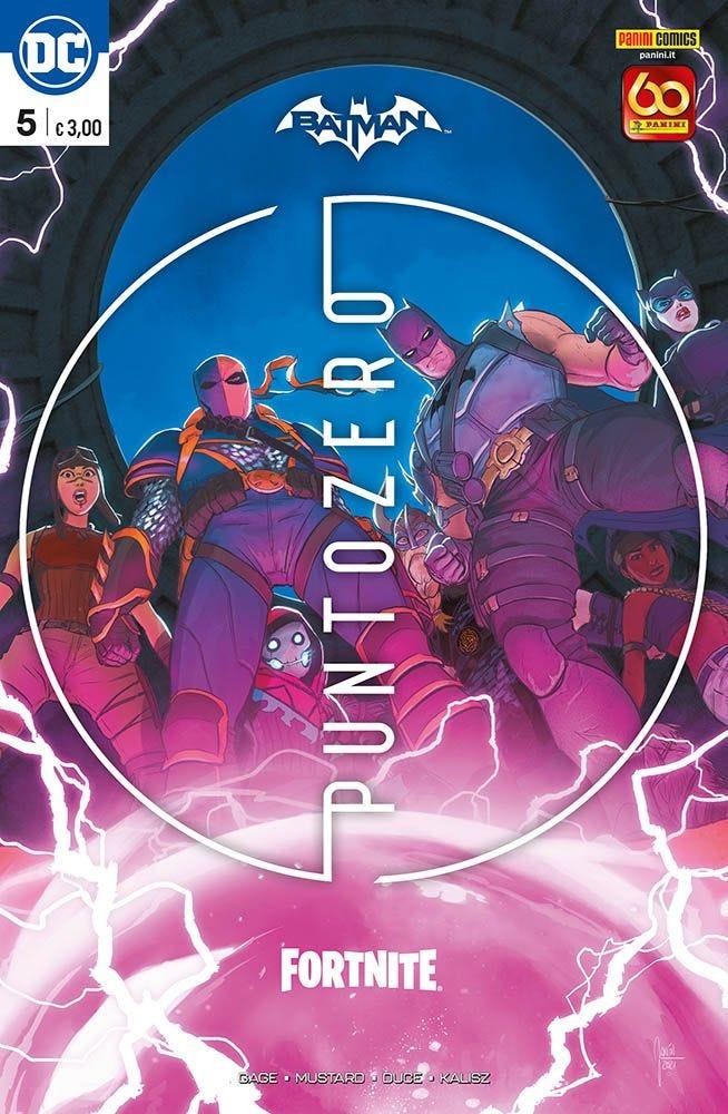 Batman/Fortnite 5 Iniziare a Leggere DC magazines
