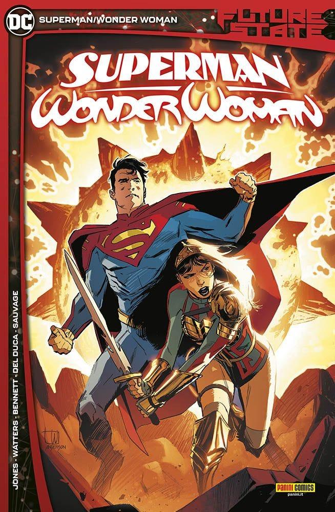 Future State: Superman/Wonder Woman Superman magazines