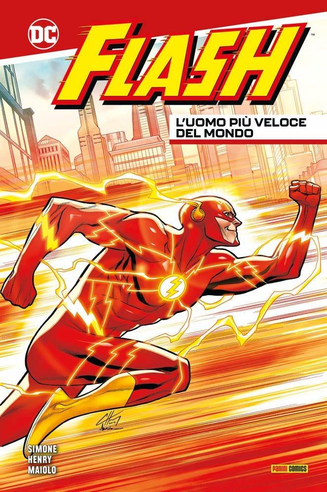 Flash: L'uomo più veloce del mondo Prevendita books