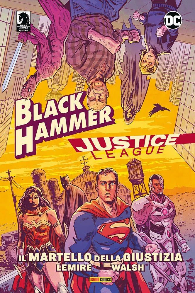 Black Hammer/Justice League: il Martello della Giustizia Justice League magazines