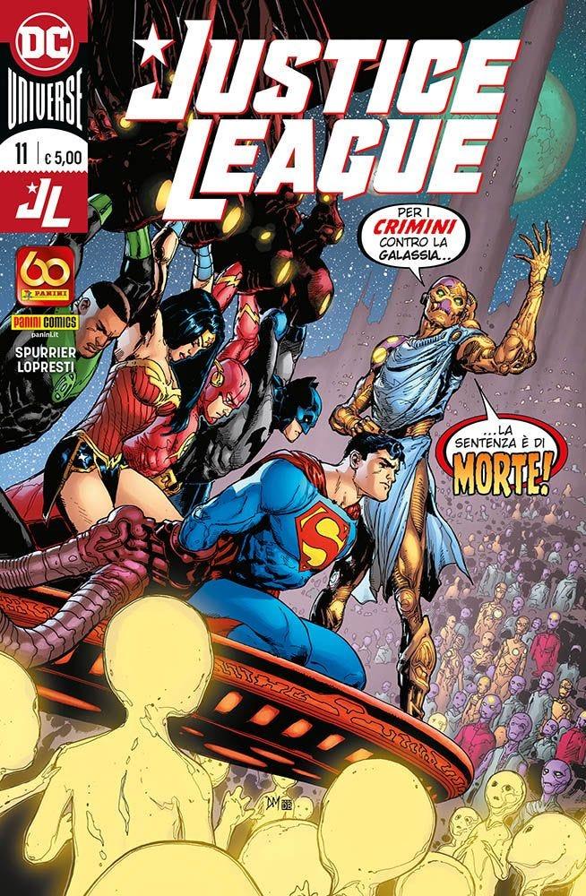 Justice League 11 Justice League magazines