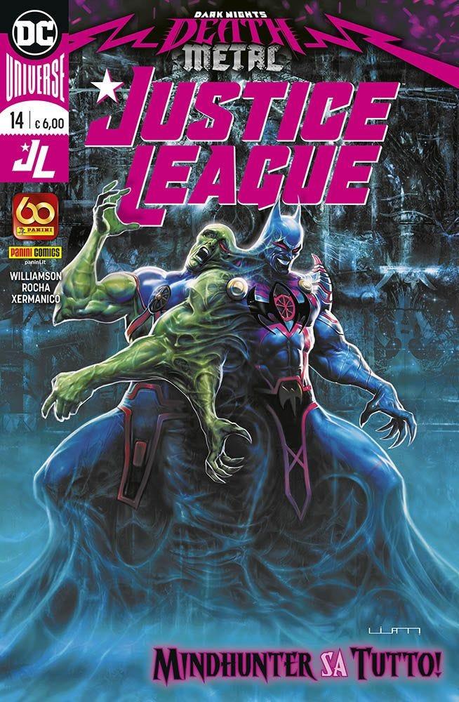 Justice League 14 Prevendita magazines