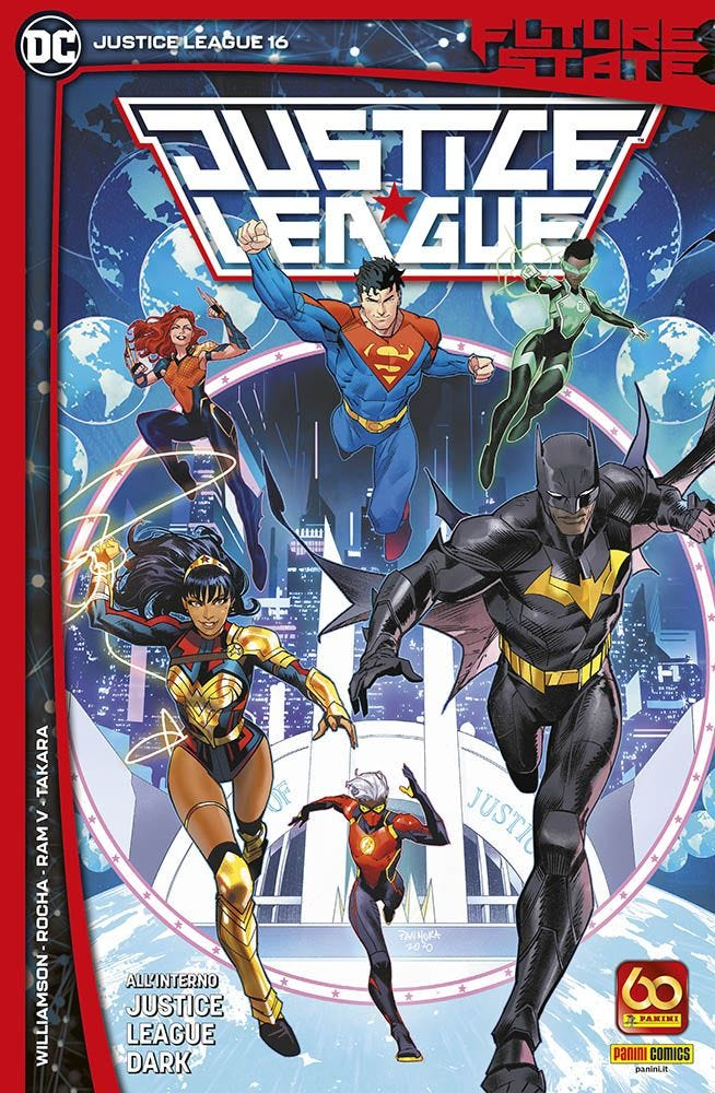 Justice League 16 Justice League magazines