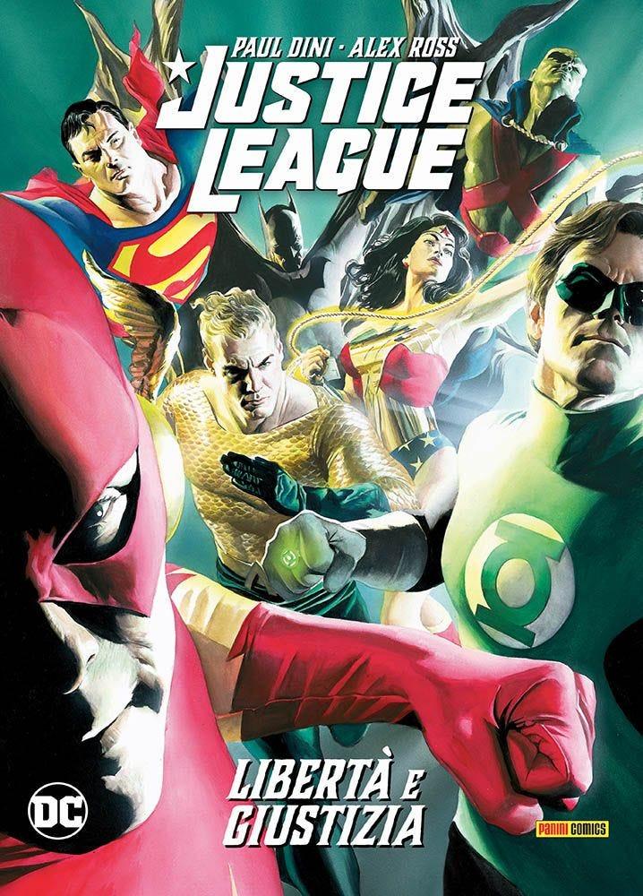 Justice League: Libertà e Giustizia Prevendita magazines