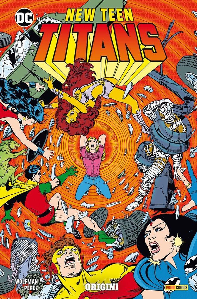 New Teen Titans di Wolfman e Peréz 3 Raccolte in Volume magazines