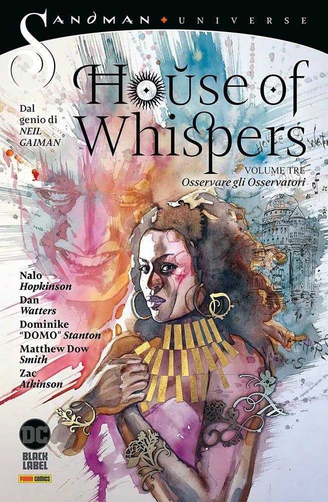 House of Whispers 3 Sandman magazines