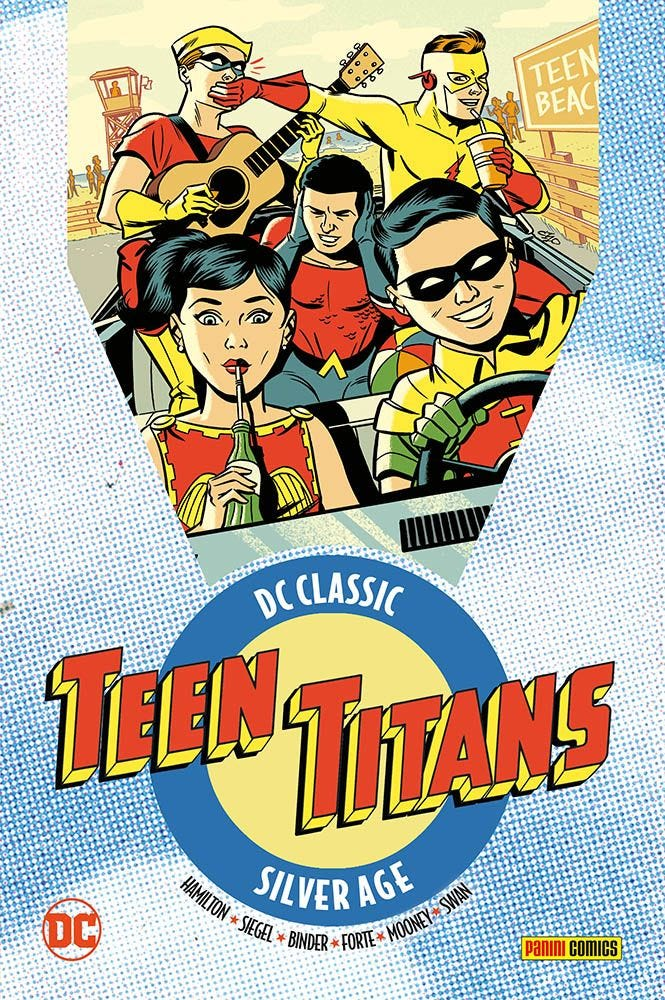 DC Classic: Teen Titans 1 DC Golden e Silver Age magazines