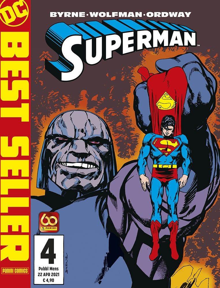 Superman Di John Byrne 4 Superman magazines