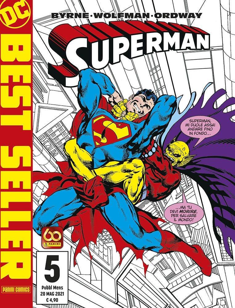 Superman di John Byrne 5 Superman magazines
