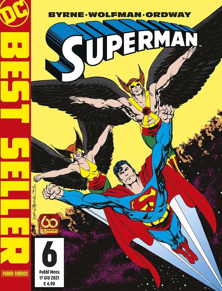 Superman di John Byrne 6 Superman magazines