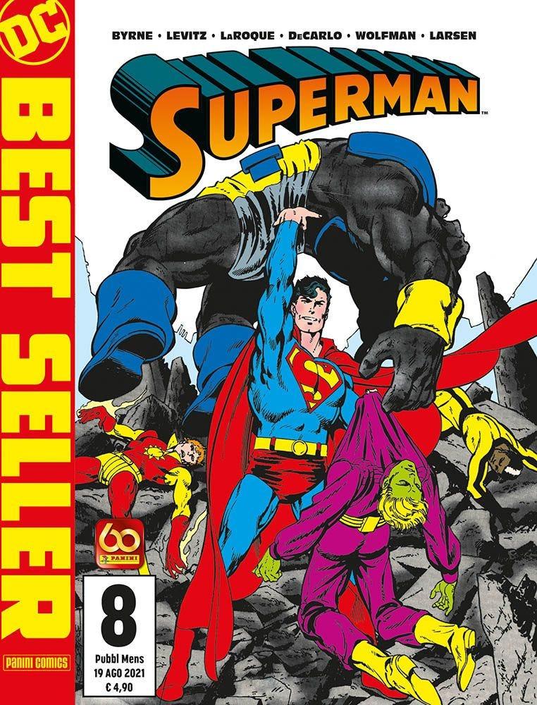 Superman di John Byrne 8 Superman magazines