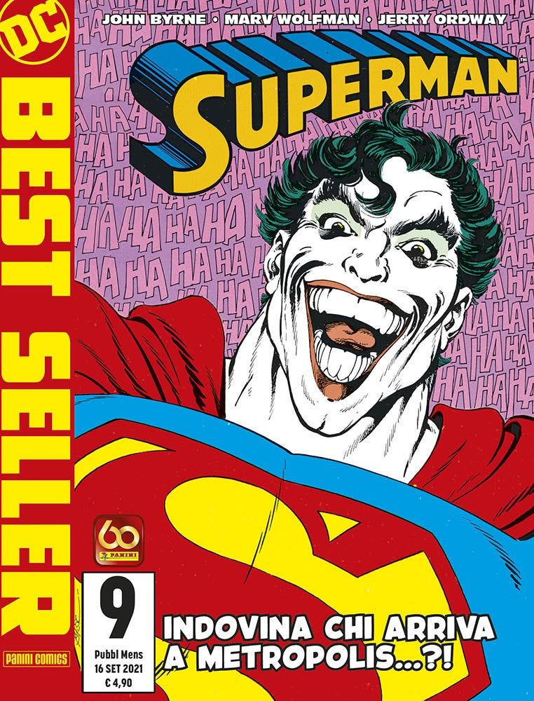 Superman di John Byrne 9 Joker magazines